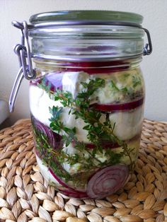 Diy And Crafts, Mason Jars, Food And Drink, Appetizers, Xmas, Snacks, Recipes, Eten, Appetizer