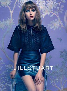 Jill Stuart Spring 2014 Model: Gracie Van Gastel Photographer: Mario Sorrenti
