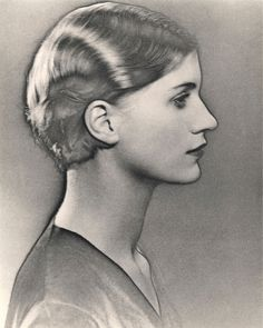 Man Ray Portraits | Man Ray, Solarized Portrait of Lee Miller (c.1929)