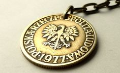 Polish coin charm Vintage charms Purse charms by CoinStories