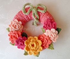 Wreath via Precious Sandra