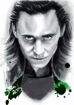 Loki, Tom Hiddleston - Unique Wall Art
