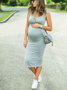 Fashion Fix: Zwangerschapsjurk met laagjes