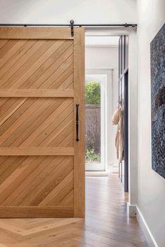 Bungalow blues Door Molding, Moulding, Barn Style Doors, Arts And Crafts House, Iron Doors, House Built, Bungalows, Farmhouse Design, Windows And Doors