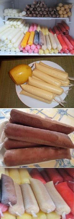 How to make homemade FRUITS with fruit and water to sell, If you like, tell us HELLO and give it a LIKE LOOK… - hielitos - Helados Ice Cream Desserts, Frozen Desserts, Ice Cream Recipes, Frozen Treats, Mexican Snacks, Mexican Food Recipes, Sweet Recipes, Dessert Recipes, Smoothie Popsicles