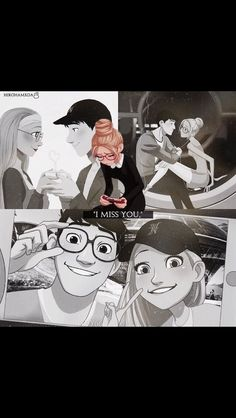 Okay didn't even know this ship existed until today and now I just love them so adorable but Disney had to kill Tadashi and I'm sad. Disney Pixar, Disney Ships, Arte Disney, Disney And Dreamworks, Disney Animation, Disney Magic, Disney Art, Disney Characters, Disney And More