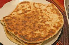 Indisches Naan Brot (Rezept mit Bild)
