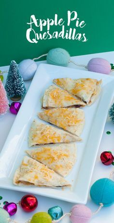 The perfect bite! Make these apple pie quesadillas for your friends and watch them fall in love. Melt some Sargento 4 Cheese Mexican Shredded Cheese on top for a gooey finish.