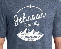family reunion shirt – Etsy