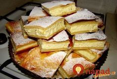 Czech Desserts, Fun Desserts, Dessert Recipes, Czech Recipes, Sweet Recipes, Cookie Recipes, Sweet Tooth, Bakery, Food And Drink