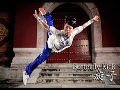 Wushu b-kick
