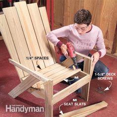 Easy Adirondack Chairs