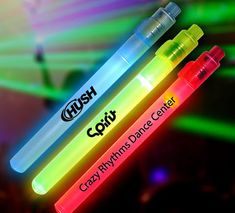 7 Inch LED Light Sticks with Custom Promotional Printing