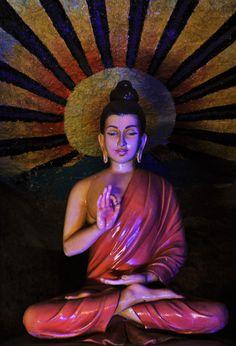 29 Gautama Buddha, Buddha Buddhism, Buddhist Art, Batu Caves, Leo Buscaglia, Listening Ears, Om Mani Padme Hum, Gods And Goddesses, Kind Words