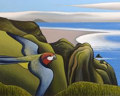 View Ahu Ahu Southward, Karekare Beach by Don Binney on artnet. Browse upcoming and past auction lots by Don Binney. New Zealand Art, Nz Art, Maori Art, Amazing Street Art, Australian Art, Wildlife Art, Art Auction, Art Market, Landscape Paintings