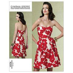 Misses' Dress-AAX (4-6-8-10) PatternMisses' Dress-AAX (4-6-8-10) Pattern,