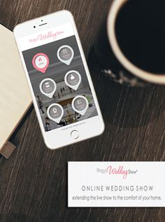 Keep planning your perfect wedding at home or on the go! Join us at our Online Wedding Show! Sign up for FREE at onlineweddingshows.com