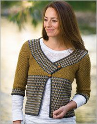 Riverstone Cardigan - Interweave