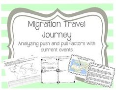 Push and pull factors of immigration essay article
