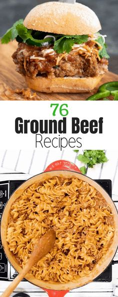 76 Ground Beef Recipes ⋆ Homemade for Elle
