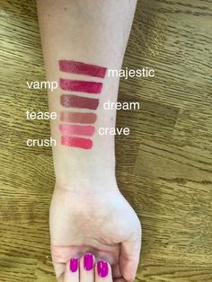 Sleeping Beauty Salon on Facebook: Just some of our shades available at all locations! Swatch, Salons, Sleeping Beauty, Lips, Shades, Facebook, Makeup, Make Up, Lounges