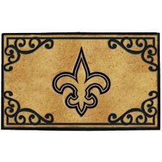 New Orleans Saints Door Mat