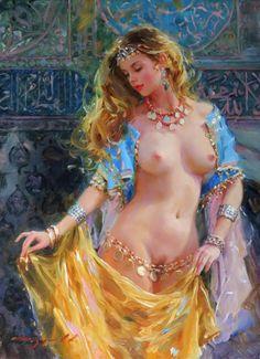 Женский образ в картинах Константина Разумова