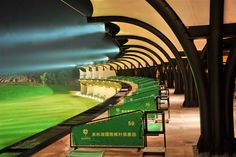 Mayland City, China - Golf Driving Range & Country Club