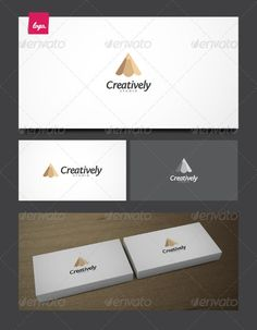 Creatively - Logo Design Template Vector #logotype Download it here: http://graphicriver.net/item/creatively/1959466?s_rank=292?ref=nexion