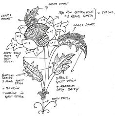 Jacobean Embroidery Patterns | Jacobean Crewel Embroidery patterns-3725536291_7807f64ca4.jpg