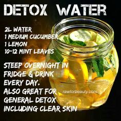 Weight Loss - Detox Water