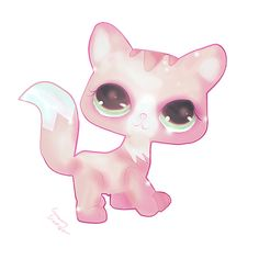 LITTLEST PET SHOP SERIES ------------------------------------- Another LPS! ~ How can they be so cute? Hope you like it. ♥. Character: Littlest PetShop©