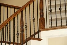 Custom Home traditional staircase