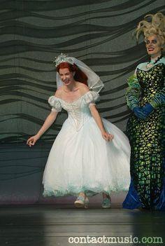 Ariel's wedding dress