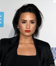 Demi Lovato à la soirée We Day California à Inglewood le 7 avril 2016