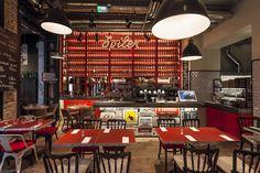 spiler bistro pub in budapest - designboom | architecture