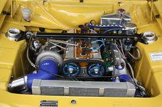 ford escort mexico cosworth, with what appears to be turbo under the hood Escort Mk1, Ford Escort, Ford Motor Company, Classic Car Restoration, Car Engine, Rally Car, Fast Cars, Cool Cars, Cool Pictures