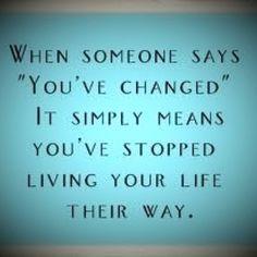Change is good.