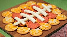 Ritz appetizers for game day