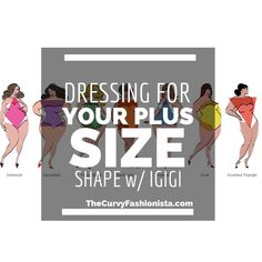 Looking for a few tips to dress for your plus size shape? Check out these tips with the help of Igigi!