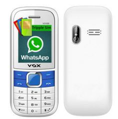 Vox 3100 Triple Sim Mobile With WhatsApp at Lowest Price at Rs 499 Only - Best Online Offer