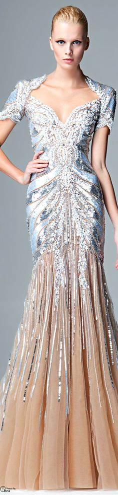 Zuhair murad 2014 prefall- all the ice queen inspired gowns from this collection are just so amazing. Style Couture, Couture Fashion, Beautiful Gowns, Beautiful Outfits, Gorgeous Dress, Couture Dresses, Fashion Dresses, Dream Dress, Pretty Dresses