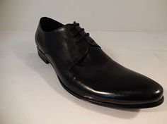 Encore Smooth Hand Painted Dress Shoe Black