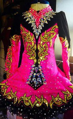 Celtic Couture Irish Dance Solo Dress Costume