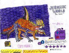 Jurassic World: The Game - Dunkleosuchus (Request) by DinoBrian47 on DeviantArt