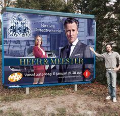 Heer en Meester Televisie serrie van Omroep MAX. ontworpen door ReclamebureauHolland http://www.omroepmax.nl/heerenmeester/