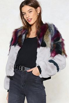 Whatever You Pre-Fur Bomber Jacket