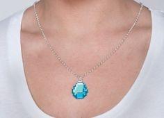 pixelated jewel... adorkable!