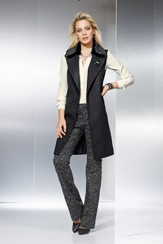 ALBA MODA Bluse aus softer Qualität mit Seiden-Touch