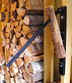 The Wall Mount Kindling Maker is an easy, safe and fast way to split kindling for your fire. Great for the cottage or woodshed